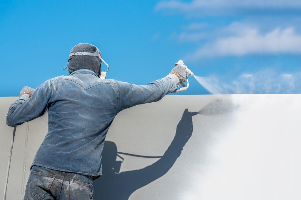 Airless Paint Spraying