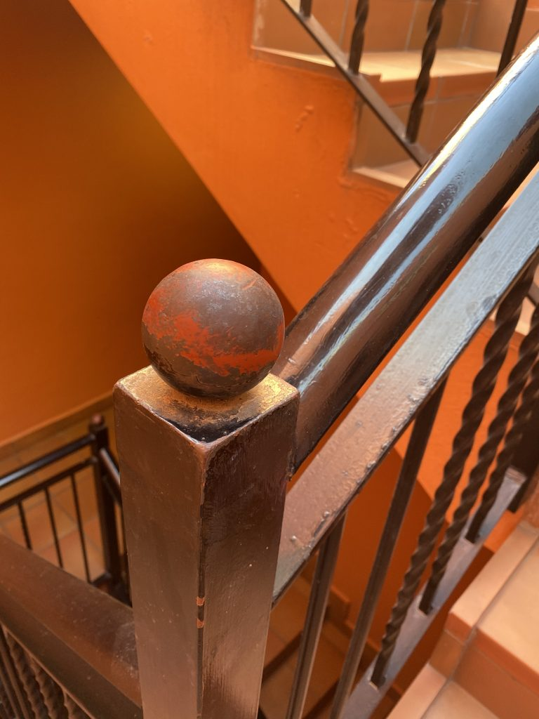 Powder Coating Breakdown  on Staircase